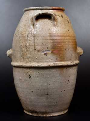 Monumental Four-Handled Stoneware Jar att. T. W. Craven, Henderson County, TN