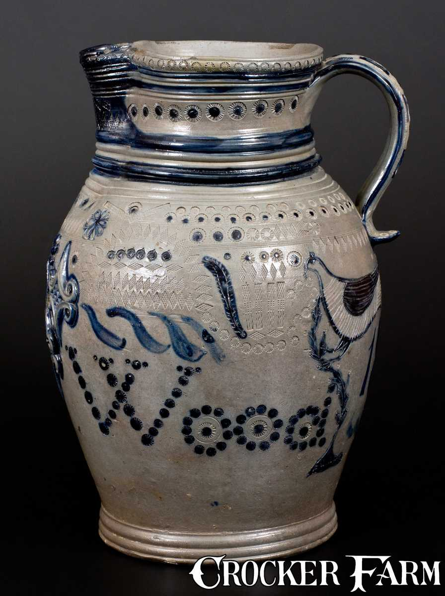 Extremely Rare And Important Maysville Ky Stoneware