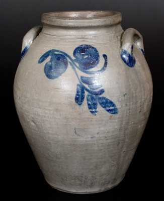 Fine Three-Gallon Stoneware Jar attributed to John P. Schermerhorn, Richmond, VA