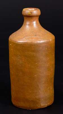 Scarce Stoneware Bottle, C. CROLIUS / MANUFACTURER / NEW-YORK