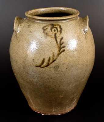 Edgefield, SC Stoneware Jar attrib. Thomas Chandler, Kirkseys Crossroads