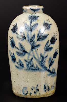 Extremely Rare JOHN BELL / WAYNESBORO Celadon-Glazed Stoneware Jug Inscribed
