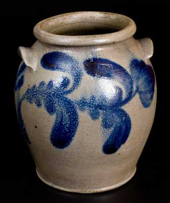 1 Gal. H. C. SMITH / ALEXA. / DC Decorated Stoneware Jar (Alexandria, VA)