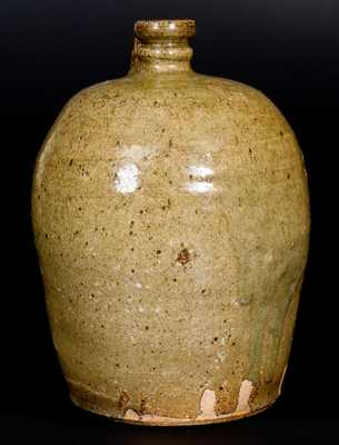 Fine 2 Gal. Edgefield District, SC Stoneware Jug