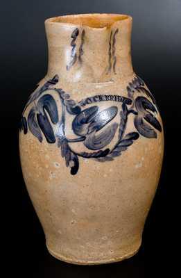 Monumental Stoneware Pitcher Signed ROCKBRIDGE (Rockbridge County, Virginia)