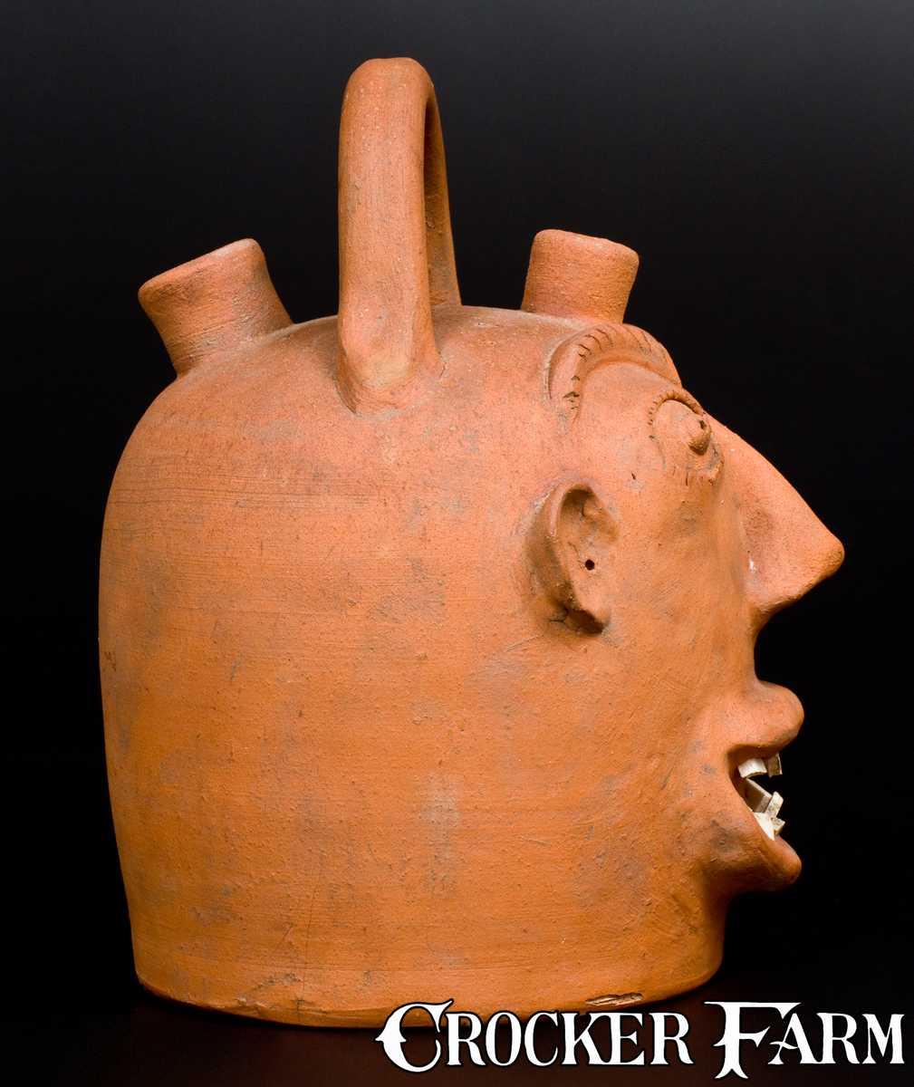 Brown Pottery Arden Nc Stoneware Harvest Jug Lot 27