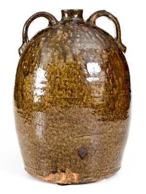 Rare WB (Washington Becham, Crawford County, GA) Double-Handled Stoneware Jug
