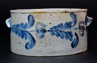 Baltimore Stoneware Butter Crock, circa 1840