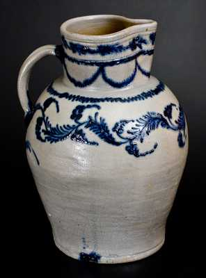 Five-Gallon Early Baltimore Stoneware Pitcher