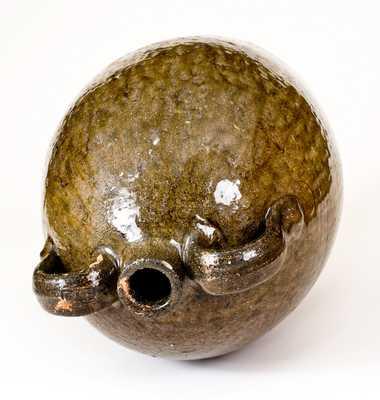 Rare FLB (Franklin L. Becham, Crawford County, GA) Double-Handled Stoneware Jug