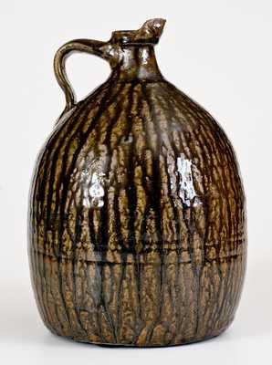 Crawford County, Georgia Stoneware Syrup Jug