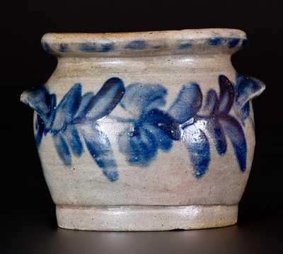 Very Rare Remmey, Philadelphia Stoneware Sugar Bowl, Inscribed