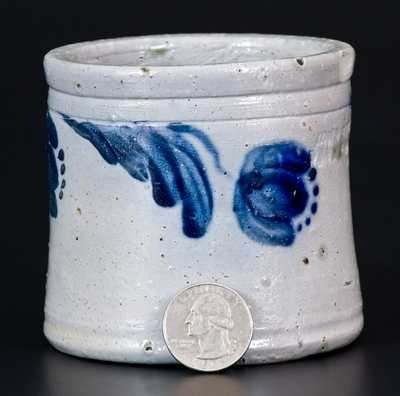 JOHN BELL / WAYNESBORO Miniature Stoneware Jar Dated 1867