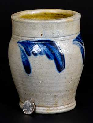 1/4 Gal. Stoneware Jar att. Richard Remmey, Philadelphia, PA