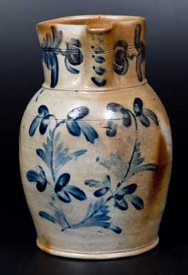 Fine 2 Gal. Baltimore Stoneware Pitcher, circa 1850