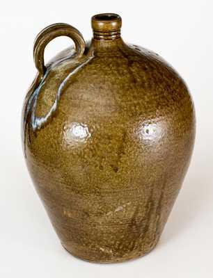 Very Fine 6 Gal. Daniel Seagle, Vale, Lincoln County, NC Stoneware Jug