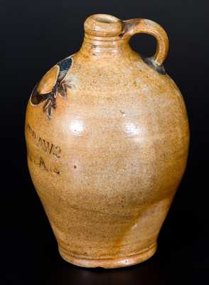 Extremely Rare 1/2 Gal. COMMERAWS / STONEWARE Jug