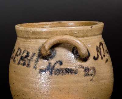 Important Stoneware Jar Inscribed
