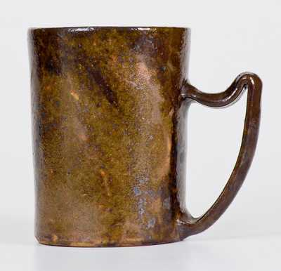George Ohr Pottery Mug, Hand Signed,