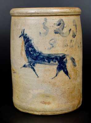 Ohio Stoneware Horse Crock
