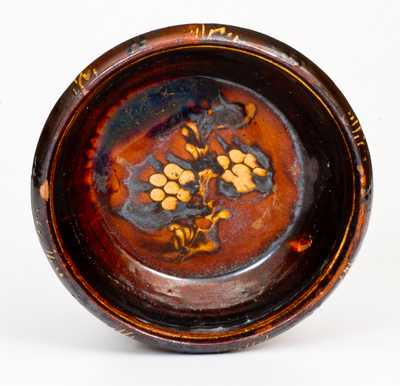 Slip-Decorated Redware Bowl, possibly North Carolina, late 18th or early 19th century