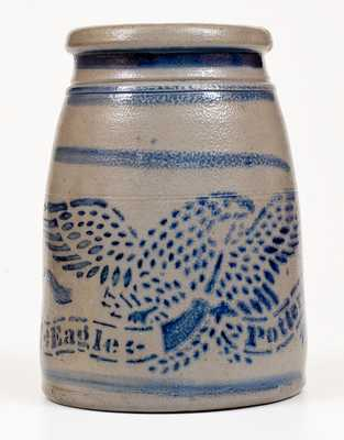 Fine Eagle Pottery Greensboro, PA Stoneware Canning Jar