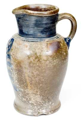 Extremely Rare Stoneware Pitcher, probably New Jersey origin