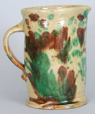 Eberly, Strasburg, VA Shenandoah Valley Multi-Glaze Pitcher