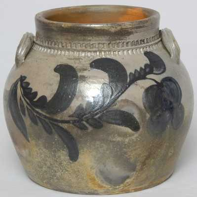 Rockingham County, VA Stoneware Jar, probably Coffman