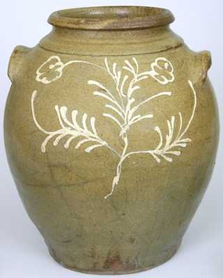 Edgefield, SC Stoneware Jar, attributed to Collin Rhodes