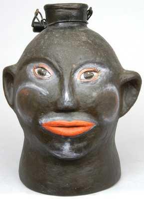 Wilkesboro, North Carolina Pottery Face Jug