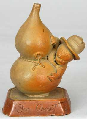 C. Kirkpatrick / Anna Pottery Grange Ghoul Figure