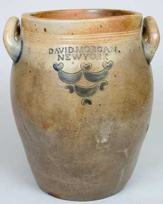 DAVID MORGAN / NEW YORK Early Stoneware Jar