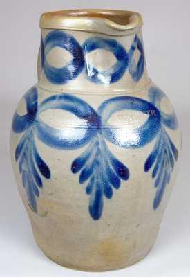 H.C. SMITH / ALEXA. / D.C. Antique Pottery Pitcher