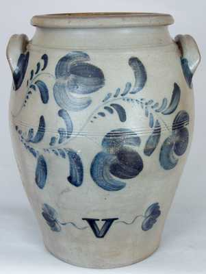 HAMILTON & CO. / Greensboro, Western PA Stoneware Jar