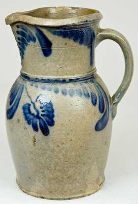 W.H. Lehew & CO / Strasburg. VA Stoneware Pitcher