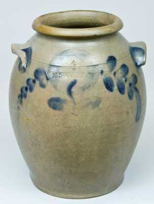 H. SMITH & CO. (Alexandria, VA) Stoneware Jar