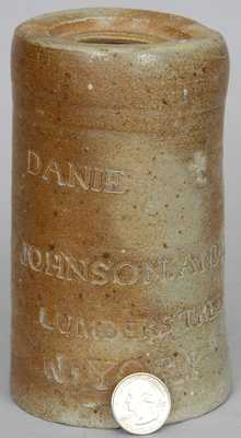 Thomas Commeraw, Manhattan Stoneware Canning Jar