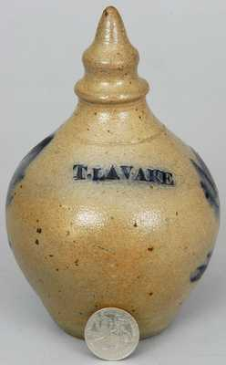 Stoneware Bank Stamped T. LAVAKE