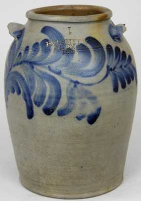 H.C. SMITH / ALEXA / D.C. Stoneware Jar