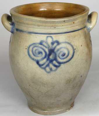 Stoneware Jar w/