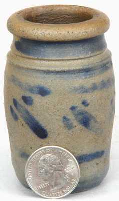 Miniature Western PA Stoneware Jar