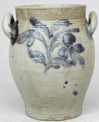 J. REMMEY / MANHATTAN-WELLS / NEW-YORK Stoneware Jar