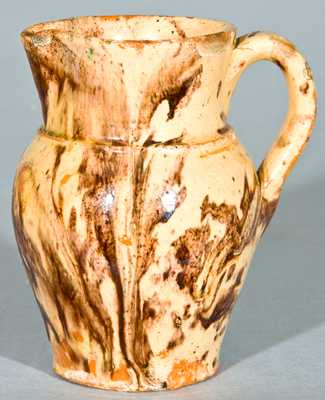 BAECHER / WINCHESTER, VA Redware Cream Pitcher