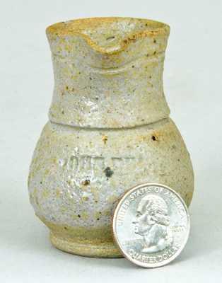 Miniature JOHN BELL Stoneware Pitcher
